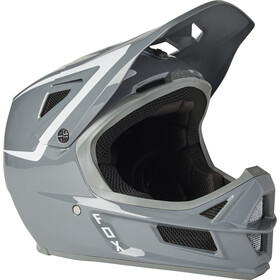 Fox Rampage Comp Repeat Helmet Men, pewter